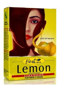 hesh lemon à la peau de citron soins nettoie en profondeur
