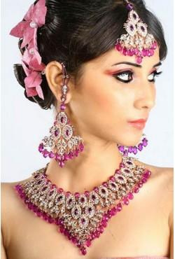 Bijoux indiens pas cher parure de mariage
