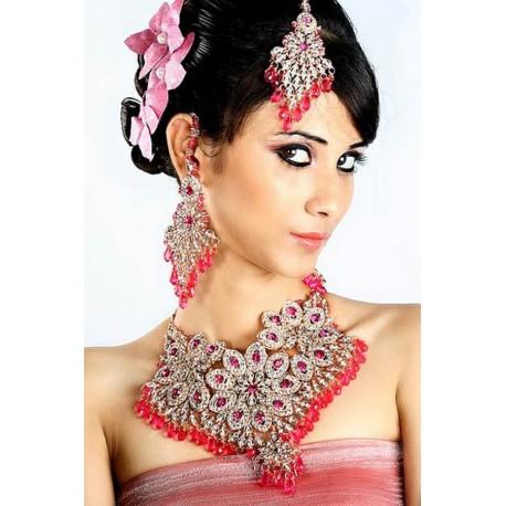 Bijoux parure de mariage pas cher