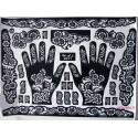 Pochoirs tatouage henné main de fleurs mehndi design