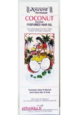 Huile de coco ancient formulae soin des cheveux secs ou abimés