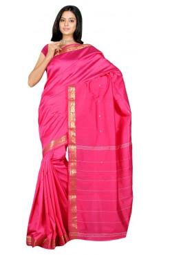 Sari pas cher en soie satin tenue indienne