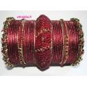Bracelets indien de mariage traditionnel