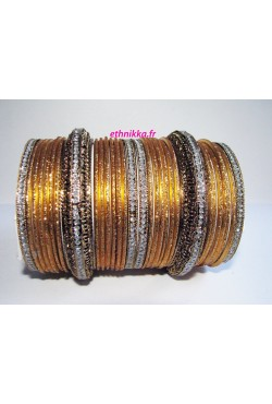Bracelet doré mariage bangles Bollywood Fashion
