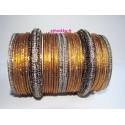 Bracelet doré mariage bangles Bollywood Fashion