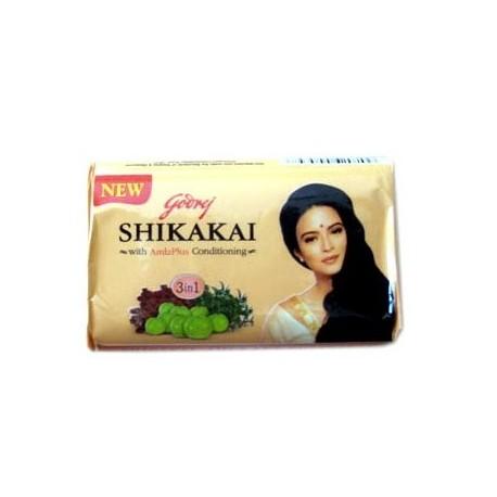 savon shikakai nettoie, hydrate et favorise la croissance des cheveux - pour la peau et cheveux secs ou normaux - Godrej