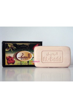 Savon naturel Al-Badil au parfum Musk (au miel, à l'huile d'olives et aux amandes)
