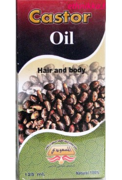 Huile de ricin soins des cheveux et de la peau
