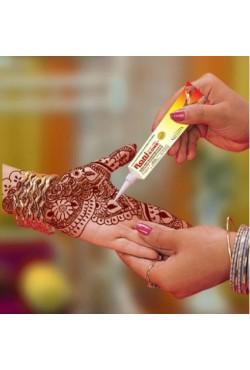 Tube tatouage henné main indien henna naturel Rani couleur marron