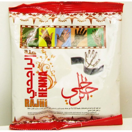 Henné naturel en poudre Rajhi Henna
