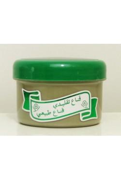 Masque d'argile verte soins de peau à l'eau de rose régule l'excès de sébum, rend la peau nette