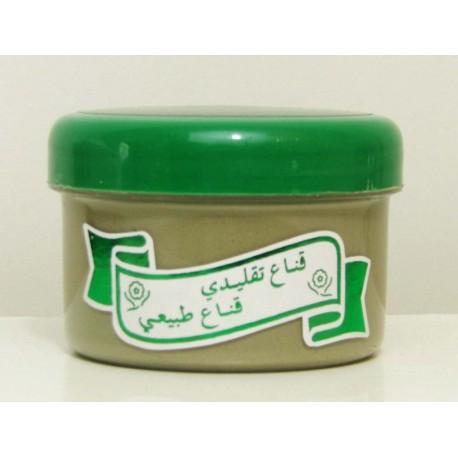 Soins de la peau à l'argile verte