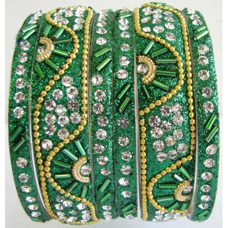 Bracelets indien perles et swarovski