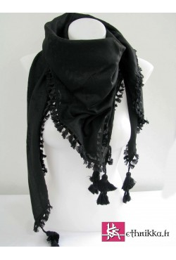 Keffieh noir All Black