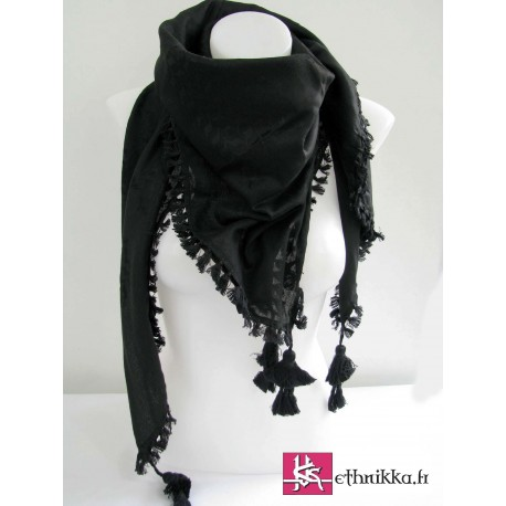 Keffieh noir - All Black