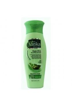Shampooing Brillance soins des cheveux noir revitalisant Olive, Amla et henné. Dabur Vatika