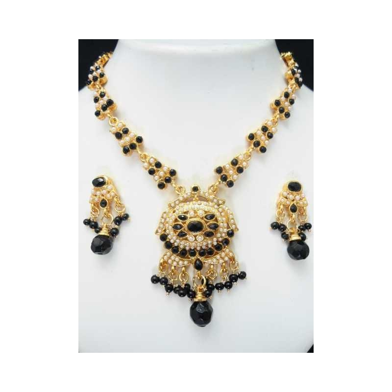 Soldes Bijoux indien parure fantaisie pas cher