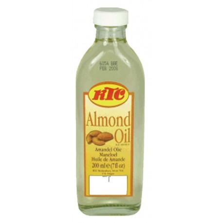 Huile d'amande pour la peau et les cheveux aux propriétés nourrissantes, adoucissantes et hydratantes