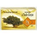 Savon Taous doux à l'huile d'argan naturelle pour la peau