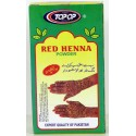 Top op henné rouge tatouage main et cheveux
