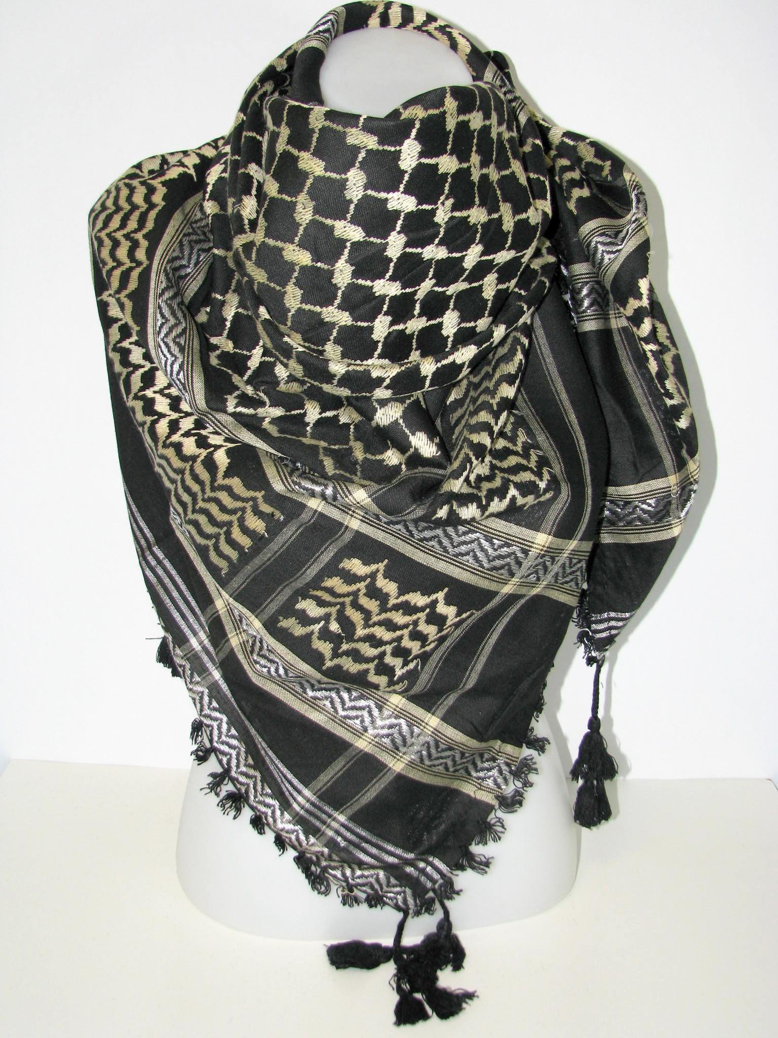 foulard palestinien. Black Bedroom Furniture Sets. Home Design Ideas