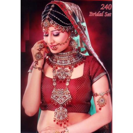 Grande parure de mariée bijoux indiens