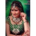 Bijoux indiens mariage rouge et verte