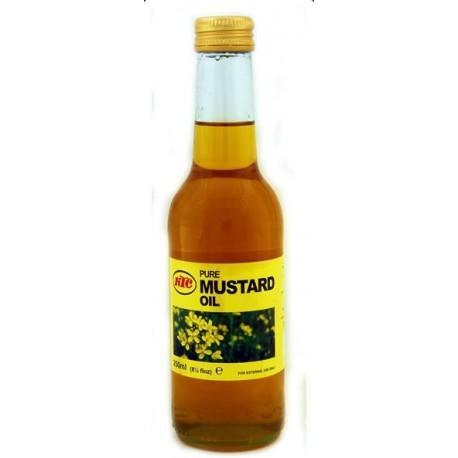 Huile de moutarde pour les cheveux KTC