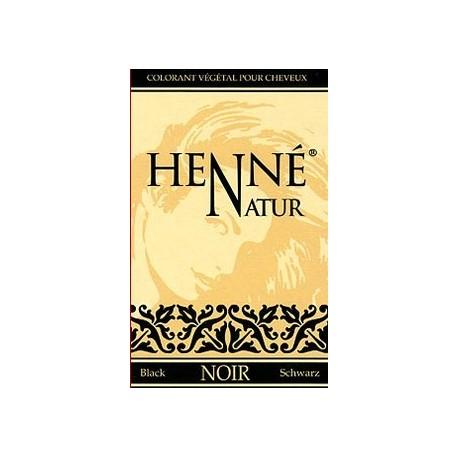 Coloration des cheveux soins au Henné noir royal