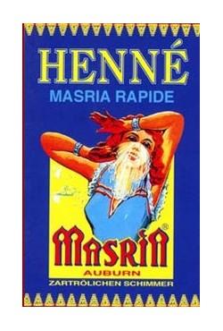 Henné Masria coloration auburn soins cheveux