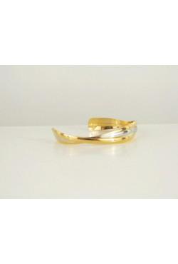 Bracelet en plaqué or et en argent plaqué - bijou oriental