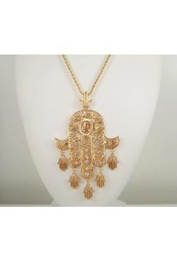 Collier sautoir main de fatma - bijoux orientaux