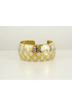 Bracelet africain en or plaqué