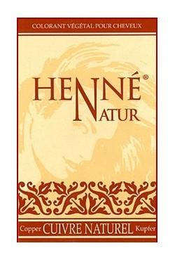 Coloration cuivre naturel soins des cheveux au Henné
