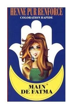 Henné coloration cuivre intense soins des cheveux