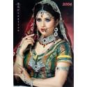 Bijoux indiens de mariage rouge et verte