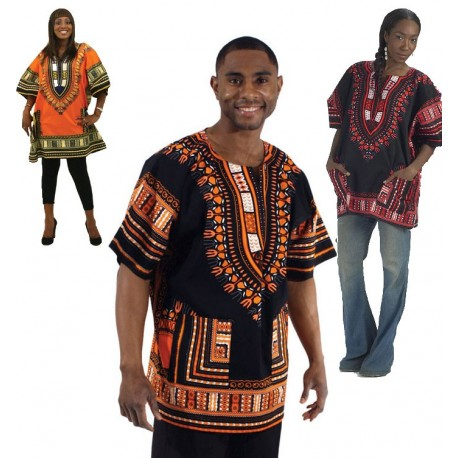 tenue tunique africaine dashiki. Black Bedroom Furniture Sets. Home Design Ideas