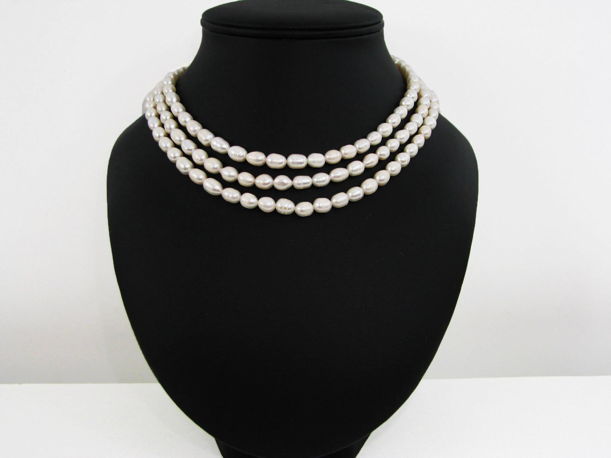 collier perle ras du cou