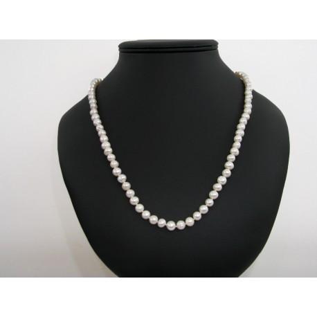 collier perles de culture pas cher 60 cm. Black Bedroom Furniture Sets. Home Design Ideas