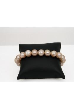 Bracelet en perles de culture pêche
