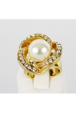 Bague Perle plaqué or bijoux orientaux