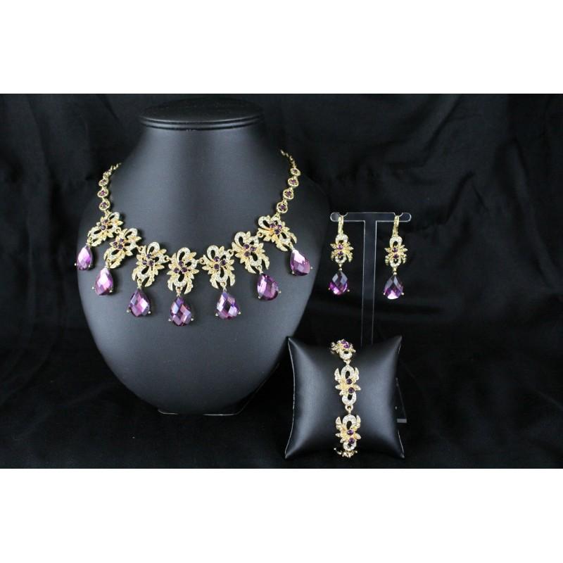 Acheter parure bijoux orientaux arabe for Bijoux orientaux mariage