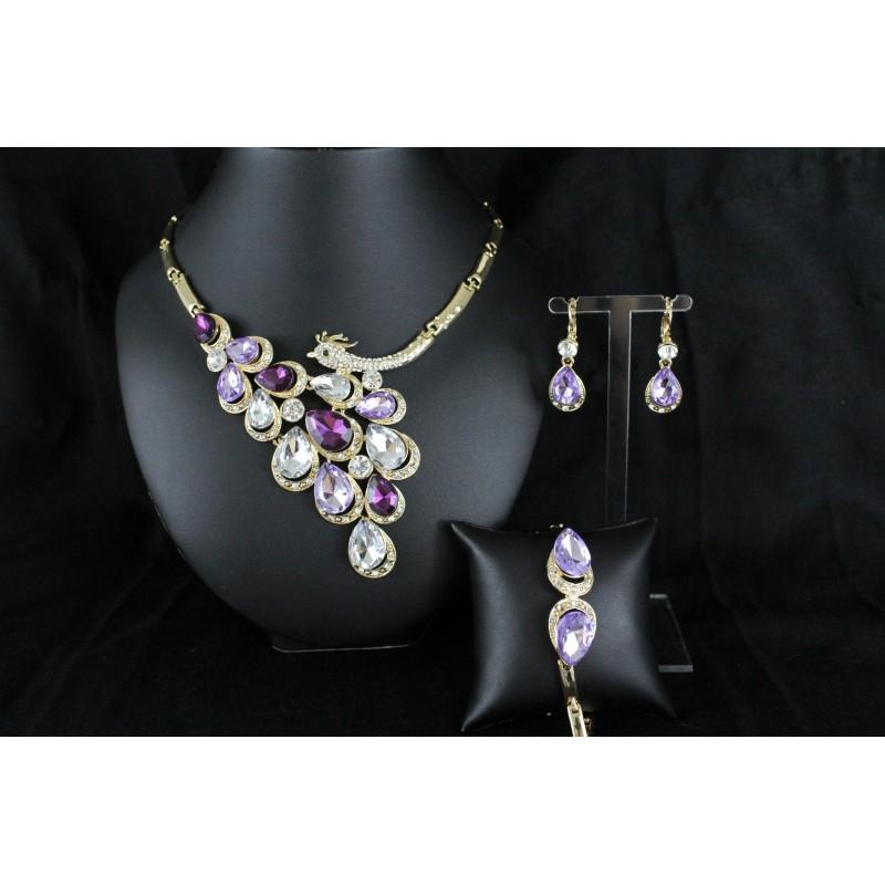 Acheter parure bijoux orientaux en forme de pan plaque or for Bijoux orientaux mariage