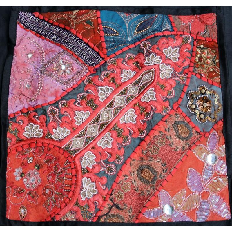 Acheter housse de coussin patchwork pas cher sur - Housse de coussin sur mesure pas cher ...