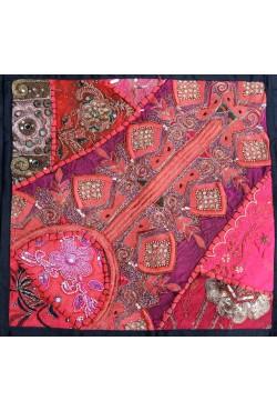 Housse de coussin 40x40 patchwork