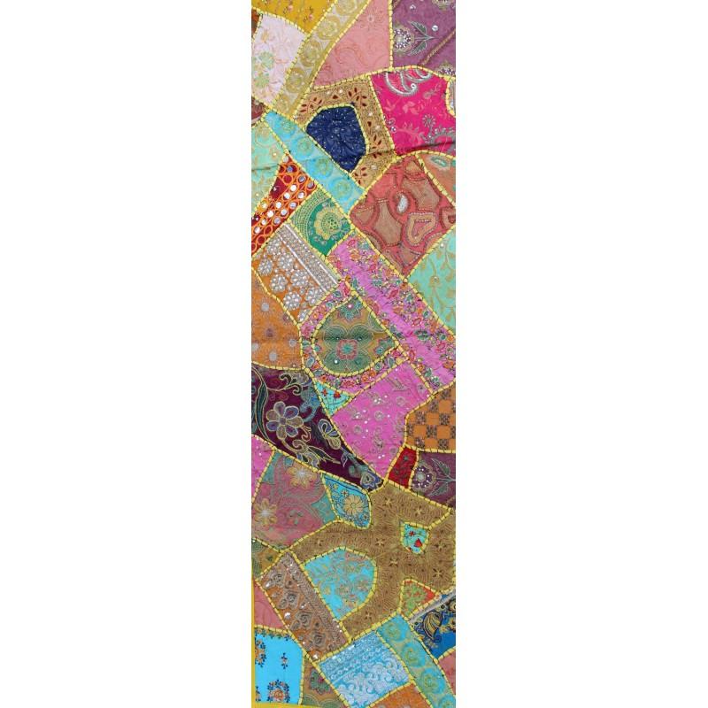 Chemin de table indien - Chemin de table en patchwork ...