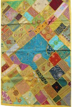 Nappe tenture patchwork