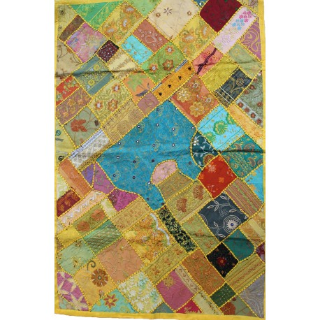 Nappe tenture patchwork