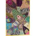 tenture patchwork indien
