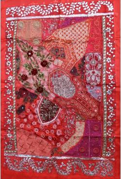 Nappe tenture décoration indienne